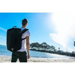 Fleek Travel Backpack - White Diamond Cover