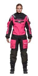 507225 EX2 Drysuit, Pink Lady size L