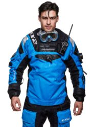 500121 EX2 Drysuit, Blue Men size XS