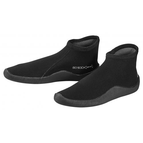 Go Sock 3mm Thin Sole - Black