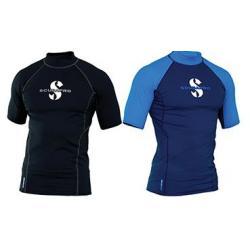 Black T-Flex Mens, Short Sleeve (UPF80)