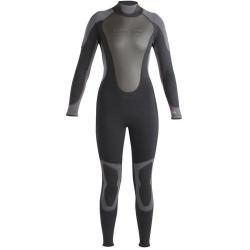 Aqua Lung 3MM Women's QS FULL BLK/PNK,15/16