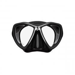 Synergy Mini Mask w/ Comfort Strap - Black/Silver - Black Skirt