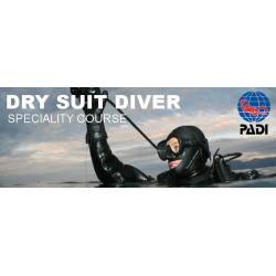PADI Dry Suit Diver