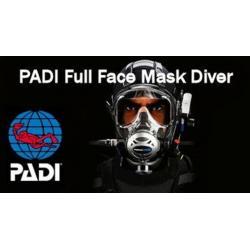 PADI Full Face Mask Diver