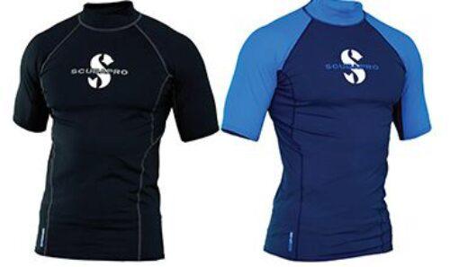 Aegean T-Flex Mens, Short Sleeve (UPF80)- Blue