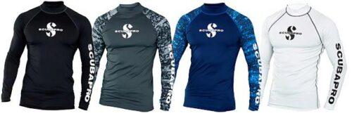 Aegean T-Flex Mens, Long Sleeve (UPF80)- Blue