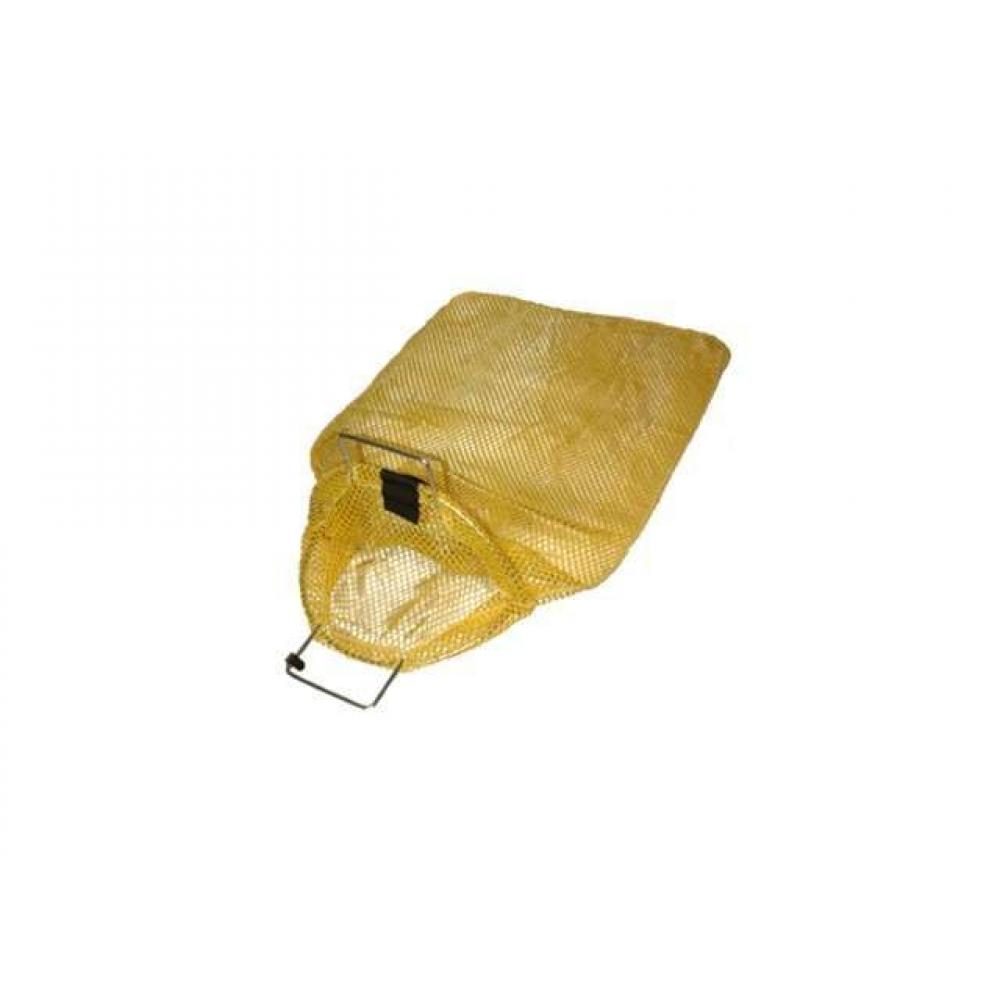 LARGE WIRE HANDLE MESH BAG WITH D-RING