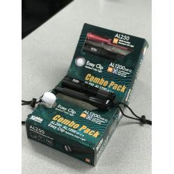 Combo Pack: AL250 Black & AL1200NP-II & Easy Clip Rainbow