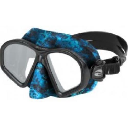 Predator Mask, blue/camo, reflective lenses