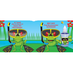 Defrogger defogging mask gel - Reef Safe