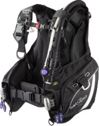 SM TINA Female BC with AWLS III - BLACK, SMALL