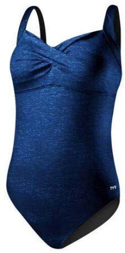 Tyr Women'S Mantra Twisted Bra Controlfit Plus One Piece 24W Turquoise