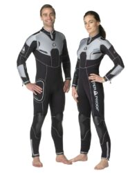 060135 W4 5Mm Fullsuit With Back Zip - Male Large Plus