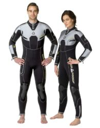 061108 W4 7Mm Fullsuit With Back Zip - Male 3Xl Tall Plus