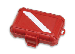 Marine Sports Extreme Dry Box 4-3/8 Inchx 2-7/8 Inchx 1-3/8 Inch Red/White