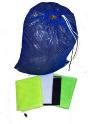 Armor Bags Mesh Small Bag 15 Inch X 20 Inch Blue