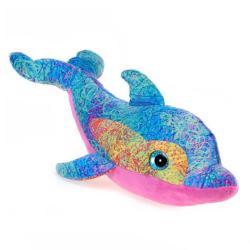 Fiesta Scribbleez Blue Dolphin Plush Toy