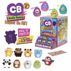Fiesta Cutie Beans 3In Jungle 9 Assorted Plush Toy