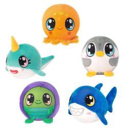 Fiesta Mushy Plushies 3.5 In Sealife Blind Bag Plush Toy