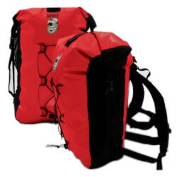 Armor Bags Backpack Dry Case Red And Black