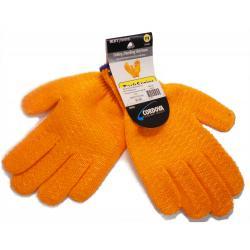 Honeycomb Gloves, Small Orange