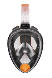 Ocean Reef Aria Classic Fullface Mask Snorkel Combo Small/Medium Black