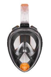 Ocean Reef Aria Classic Fullface Mask Snorkel Combo Large/X-Large Black