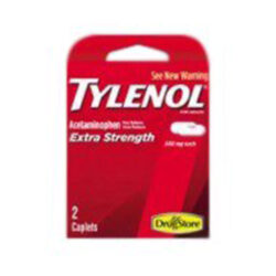 Marine Sports Tylenol Personal Care 2 Tablets