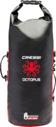 Cressi Octopus Dry Backpack Black/Red