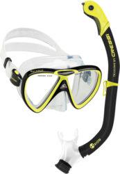 Cressi Ikarus & Orion Mask Snorkel Combo