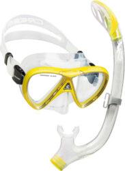 Cressi Child Pegaso & Iguana Semi-Dry Mask Snorkel Combo