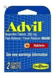Marine Sports Advil Personal Care 2 Tablets