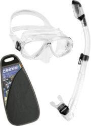 Cressi Perla & Supernova Dry Mask Snorkel Combo