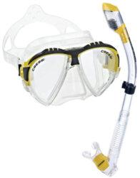Cressi Matrix & Supernova Dry Mask Snorkel Combo