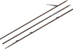 Cressi Inox Finned Shaft  7Mm [130Cm] Shaft 130 Cm