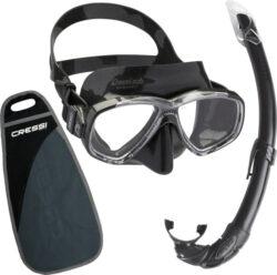 Cressi Perla & Mexico Mask Snorkel Combo