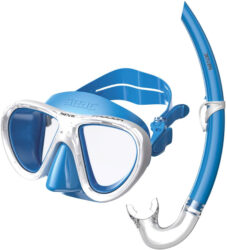 Seac Child Set Bis Procida Siltra/Az Light Blue Mask Snorkel Combo Junior Light