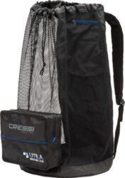 Cressi Ultra Foldable Mesh 85 Liters Backpack Black