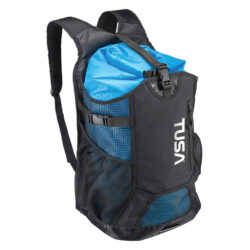 Tusa Mesh Backpack & Drybag Medium Bag Black/Blue
