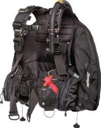 Ranger LTD w/ Inflator, Hose and RE Valve, Black - BK