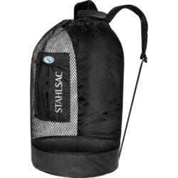 Panama Mesh Backpack, Black