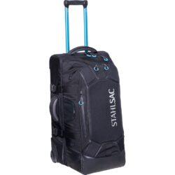 27in Steel Wheeled Bag, Black