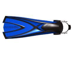 X1 Fin, Small, Blue