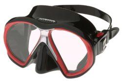 SubFrame Mask, Black/Red