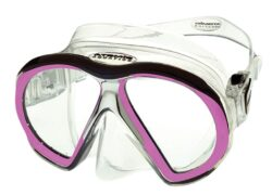 SubFrame Mask, Medium Fit, Clear/Pink