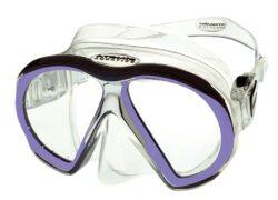 SubFrame Mask, Medium Fit, Clear/Purple