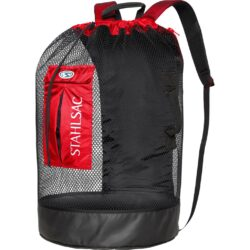 Bonaire Mesh Backpack, Red