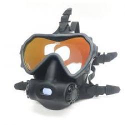 OTS Spectrum Full Face Mask - Black Skirt / Clear Lens