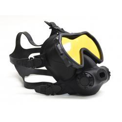 OTS Spectrum Full Face Mask Black / Coated Lens